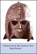 Saxon helmet
