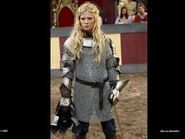 Morgause in armor