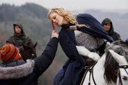 Emilia Fox Behind The Scenes Series 3