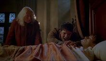 Merlin healing arthur