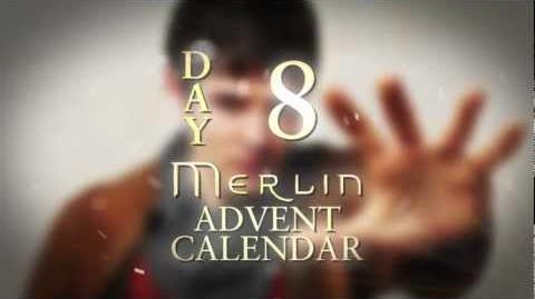 Colin Morgan spills the beans on Bradley James Day 8 Merlin Advent Calendar