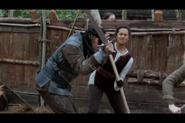 Gwen Ealdor battle