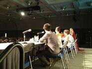 Merlin Cast and Crew Comic Con 2012-1