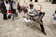 Bradley James Behind The Scenes Series 3-2