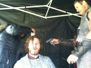 Rupert Young and Tom Hopper Behind The Scenes Series 5