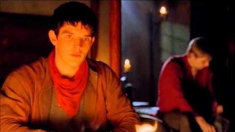 """Merlin 5x01 """"Arthur's Bane - part 1"""" Arthur and Merlin scene"""