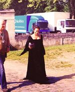 Angel Coulby Behind The Scenes Series 5-6