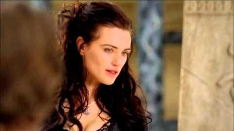 "Merlin 5×04 Morgana and Mithian ""Another's Sorrow"""