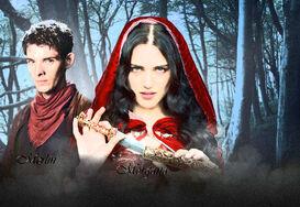 Merlin and Morgana Painting Edit