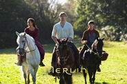 Merlin arthur and gwen in a lesson in vengeance