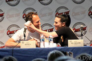 Julian Jones and Katie McGrath