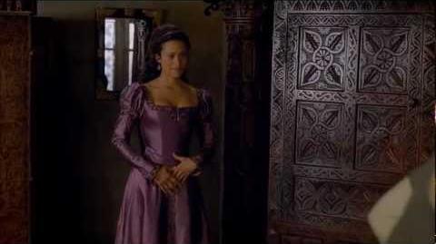 """Merlin 5x01 """"Arthur's Bane - part 1"""" Gwen scene 2"""