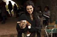 Katie McGrath and Her Tiger Behind The Scenes Series 4