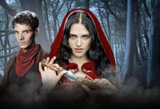 Merlin Morgana The Crystal Cave Poster