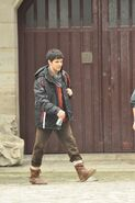 Colin Morgan Behind The Scenes Series 5