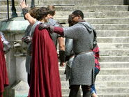 Alexander Vlahos and Adetomiwa Edun Behind The Scenes Series 5