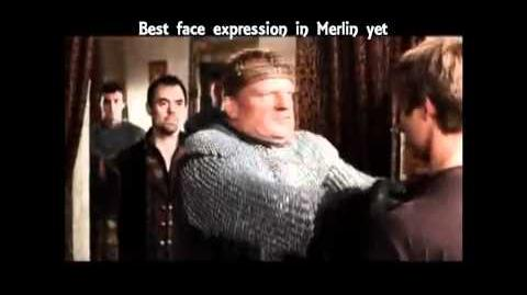 Best Face Expression on Merlin Yet