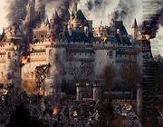 Merlin bbc season 3 camelot citadel burning siege