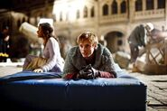 Angel Coulby and Bradley James Behind The Scenes Series 2