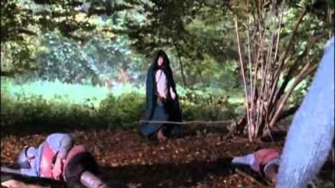Awesome Scene from Merlin - Mordred's Threat