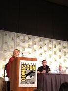 Merlin Crew Comic Con 2012