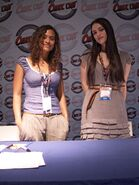 Angel Coulby and Katie McGrath-3
