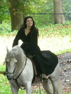 Katie McGrath Behind The Scenes Series 4