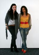 Katie McGrath and Angel Coulby-1