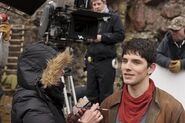 Colin Morgan Behind The Scenes Series 5-1