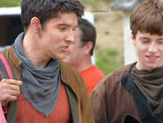 Colin Morgan and Alfie Stewart Behind The Scenes Series 5-5