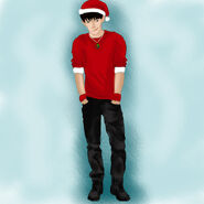 Colin morgan christmas picture by moonrush-d35enuz