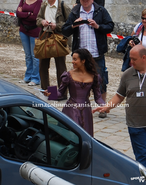 Angel Coulby Behind The Scenes Series 5-1