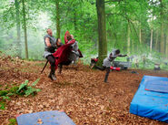 Merlin Cast and Crew Behind The Scenes Series 4-2