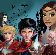 Merlin Cast Merlin Game