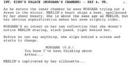 Merlin Series 1 Episode 1 Script Scene