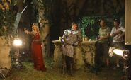 Emilia Fox and Bradley James Behind The Scenes Series 2-1