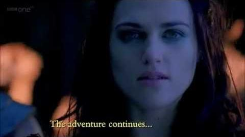 "Merlin 4x12 PROMO ""The Sword in the Stone part I"""