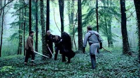 """Merlin 5×04 Arthur fight scene """"Another's Sorrow"""""""
