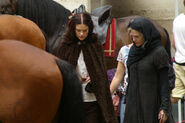 Janet Montgomery and Katie McGrath Behind The Scenes Series 5