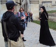 Katie McGrath Behind The Scenes Series 4-5