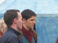 Colin Morgan Behind The Scenes Series 3-2
