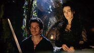 Morgana and Lancelot