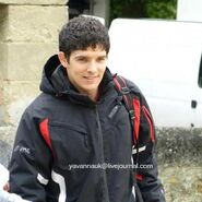 Colin Morgan Behind The Scenes Series 5-13