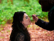 Katie McGrath Behind The Scenes Series 4-12
