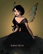 Morgana as a fairy