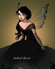 Morgana as a fairy