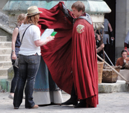 Bradley James Behind The Scenes Series 3