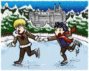 Christmas in camelot by blackbirdrose-d35cdty