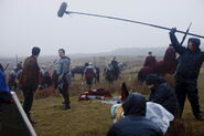 Colin Morgan and Bradley James Behind The Scenes Series 3