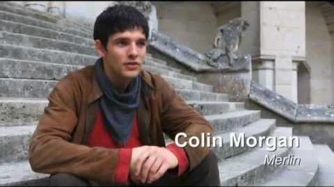 Merlin S5 DVD Box 5.2 Extras - Making of Merlin part 1